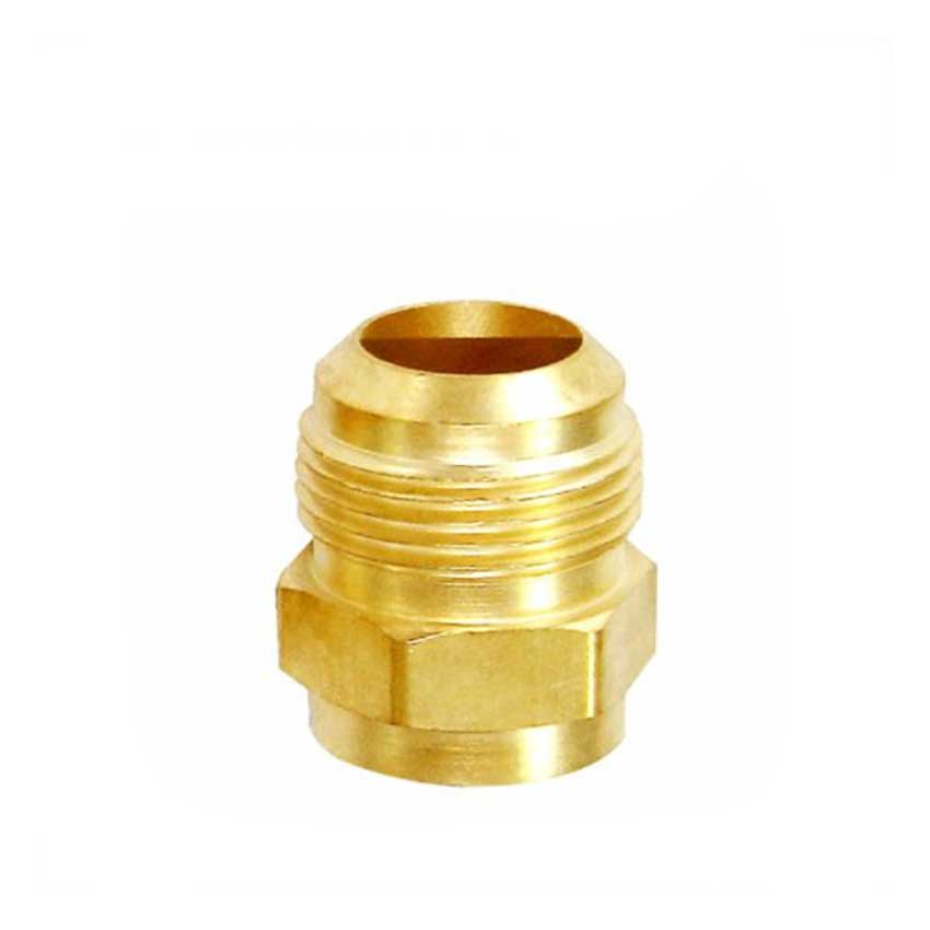 Male to Copper Connector Coupling Brass Fitting