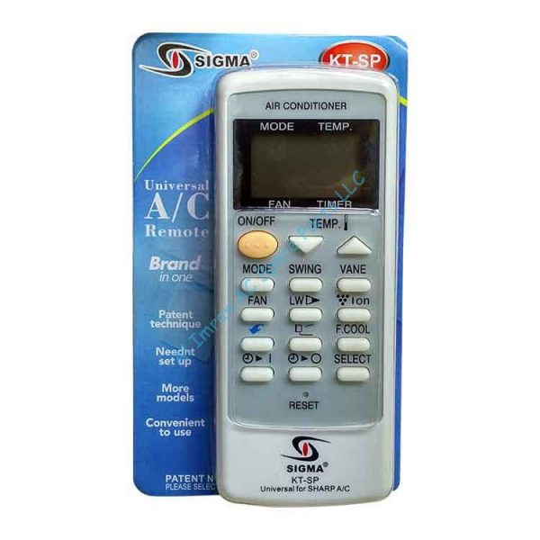 Universal A/C Remote KT SP