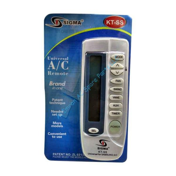 Universal A/C Remote KT SS